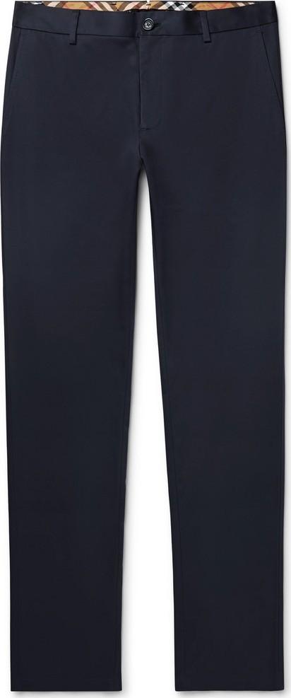 Burberry London England Slim-Fit Cotton-Twill Chinos