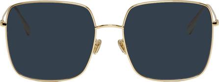 Dior Gold Stellaire Square Sunglasses