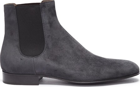 Gianvito Rossi 'Alain' suede Chelsea boots