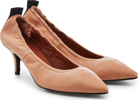 Joseph Leather Kitten Heel Pumps