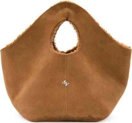 Astraet furry inside tote bag