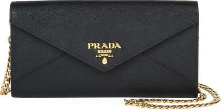 Prada Saffiano Envelope Mini Crossbody Bag
