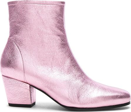 Alexachung Leather Beatnik Boots