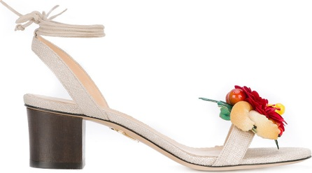 Charlotte Olympia floral sandals