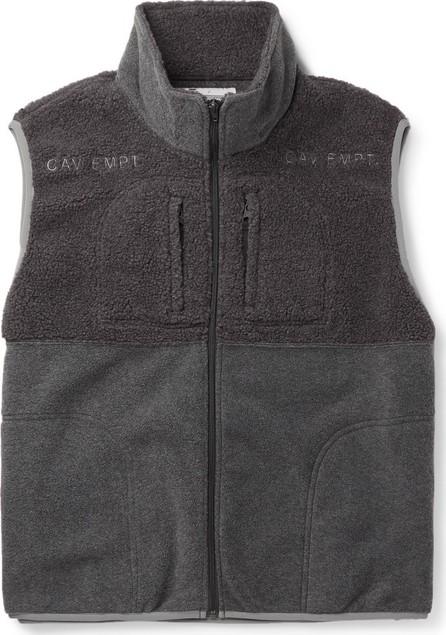 Cav Empt Colour-Block Fleece Gilet