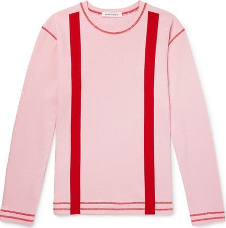 Craig Green Striped Cotton-Jersey Sweatshirt