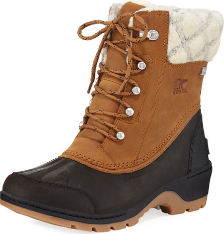 Sorel Whistler Mid Waterproof Two-Tone Duck Boots