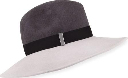 Gigi Burris Requiem Wool Wide-Brim Fedora Hat