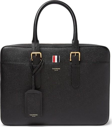 Thom Browne Pebble-Grain Leather Briefcase