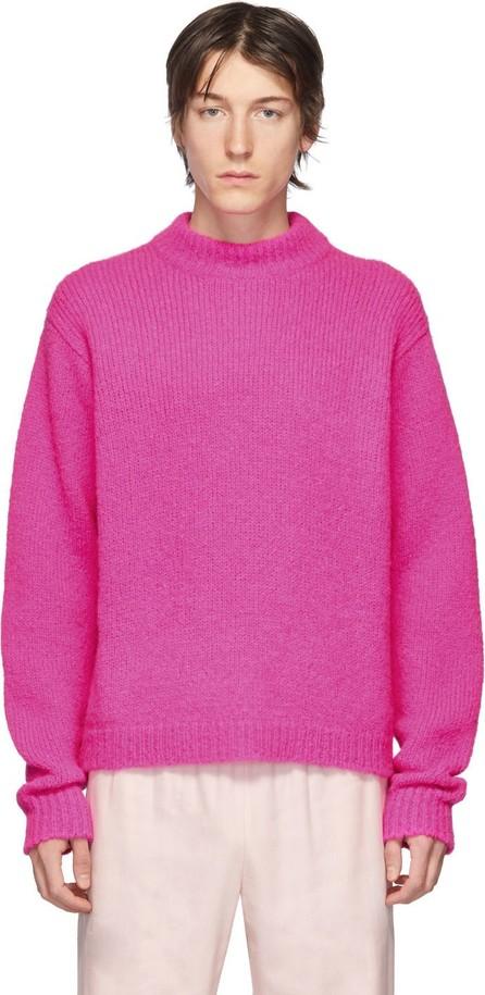 Tibi SSENSE Exclusive Pink Alpaca Sweater