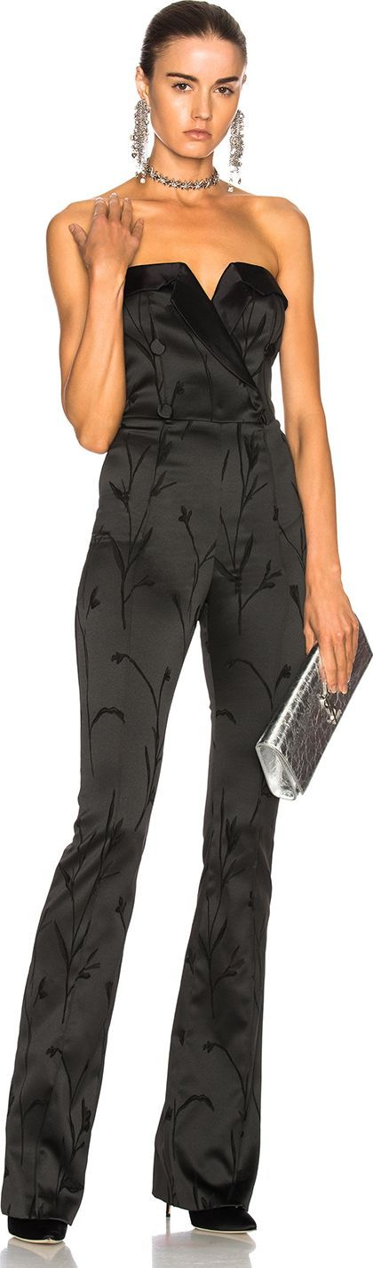 Veronica Beard Ryland Tux Jumpsuit