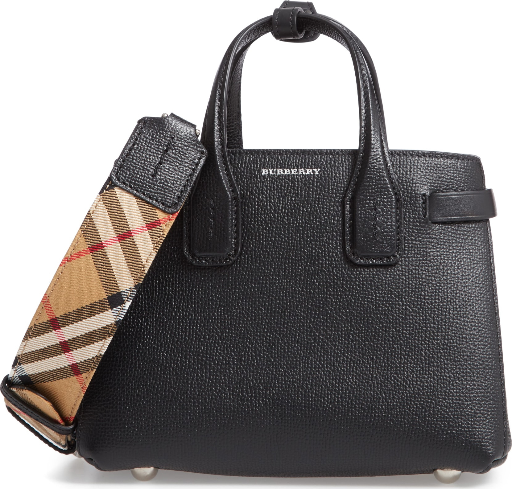 Burberry London England Burberrry Baby Banner Leather Satchel Luxed