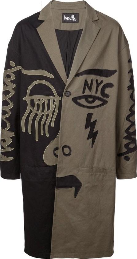 Haculla 2Faced two-tone coat