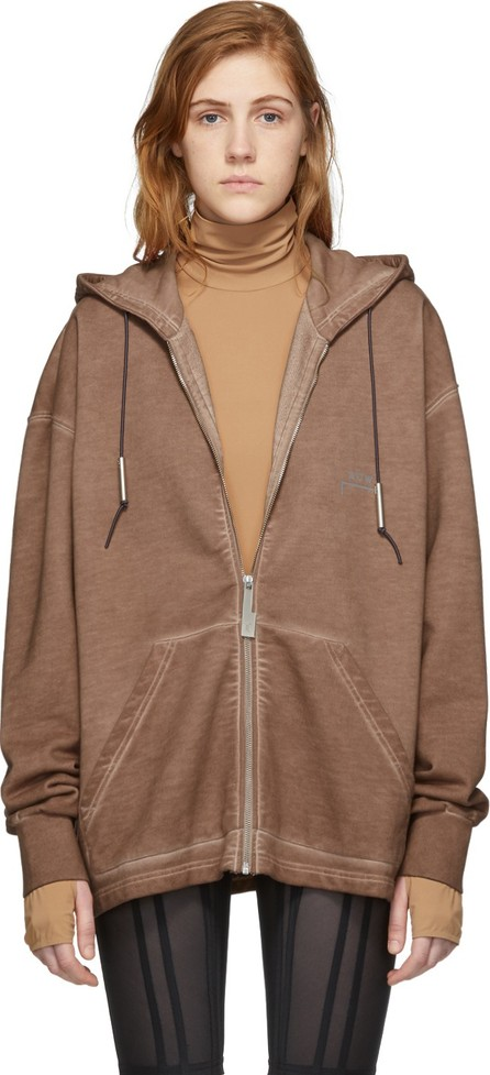 A-Cold-Wall* Pink Bracket Basic Zip-Up Hoodie