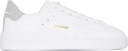 Golden Goose Deluxe Brand Pure Star glittered leather sneakers
