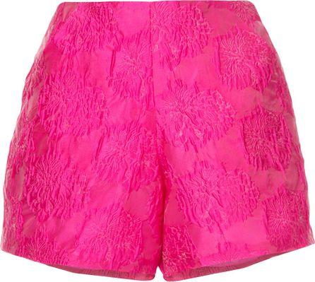 Bambah High waisted textured shorts