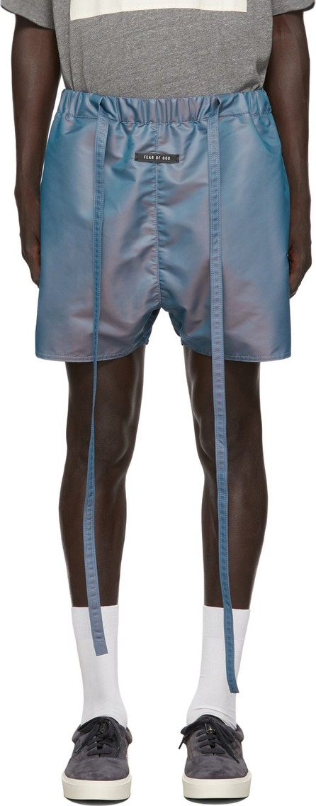 Fear of God Blue Military Physical Training Shorts