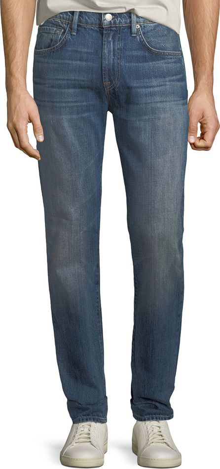 7 For All Mankind Men's Adrien Straight-Leg Denim Jeans