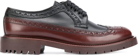 Burberry London England Brogue detail Derby shoes