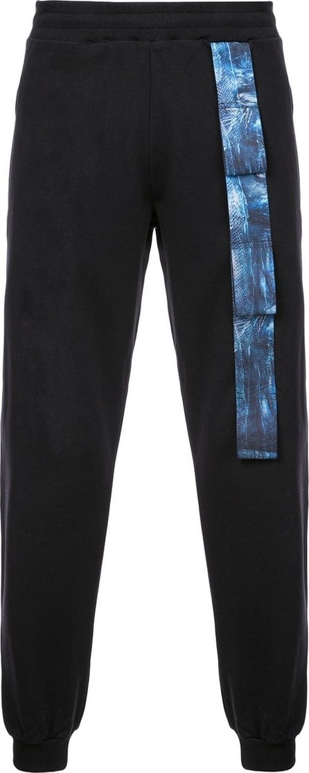 Cottweiler Contrast patch stripe track pants
