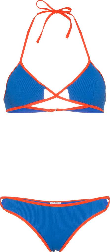 Ack Linea contrast string bikini