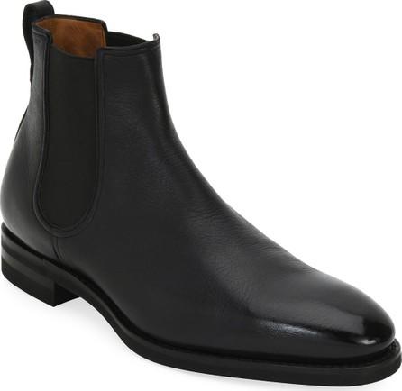 Bally Scavone Deerskin Leather Chelsea Boot