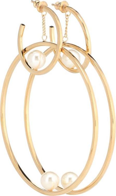 Chloe Darcey hoop earrings