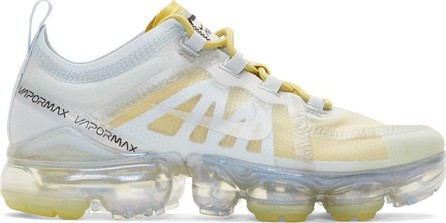 Nike Silver & Yellow Air Vapormax 2019 Sneakers
