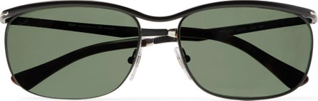 Persol Key West Rectangle-Frame Acetate Polarised Sunglasses