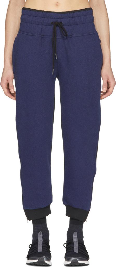 Adidas By Stella McCartney Navy & Black Essentials Zip Sweatpants