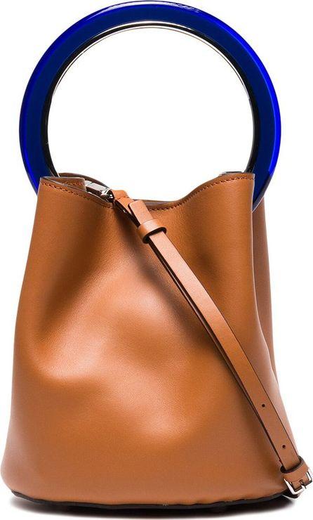 Marni Brown Pannier bucket bag