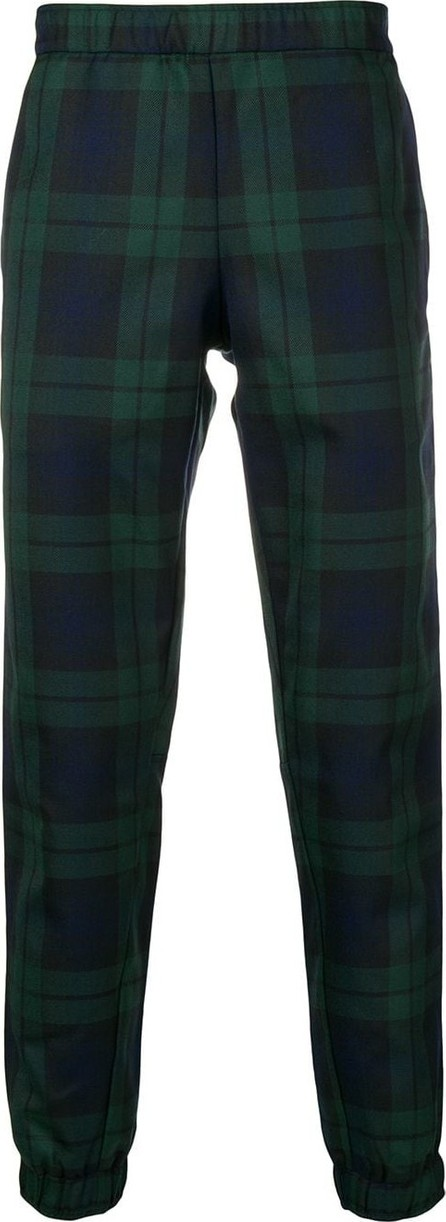 Astrid Andersen Tartan elasticated trousers