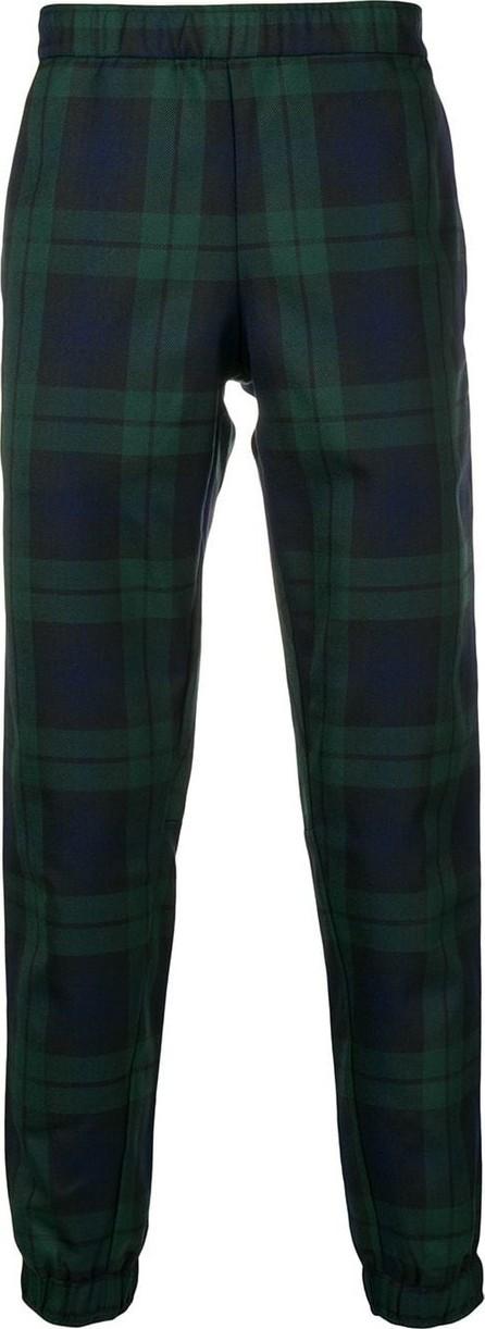 Astrid Andersen Tartan elasticated trousers