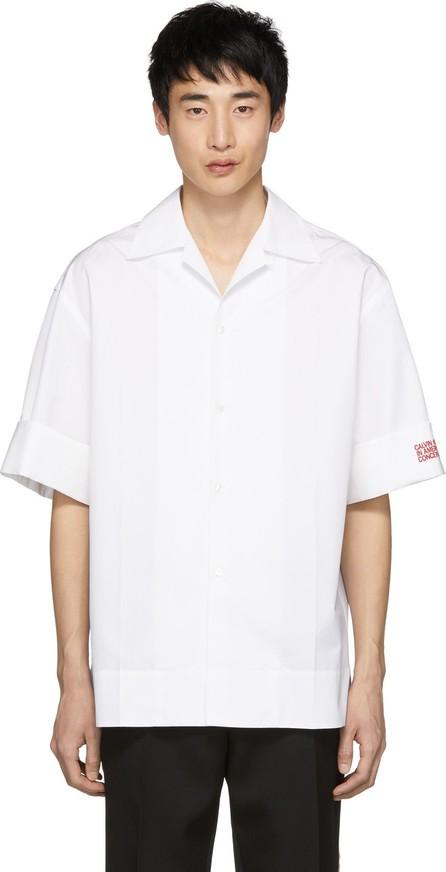 Calvin Klein 205W39NYC White Poplin Shirt
