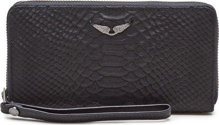Zadig & Voltaire Compagnon Savage Leather Wallet