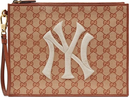 Gucci Original GG pouch with NY Yankees™ patch