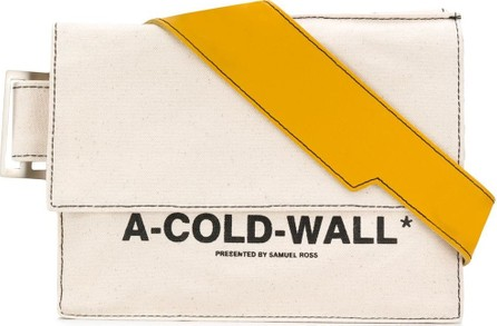 A-Cold-Wall* Logo print shoulder bag