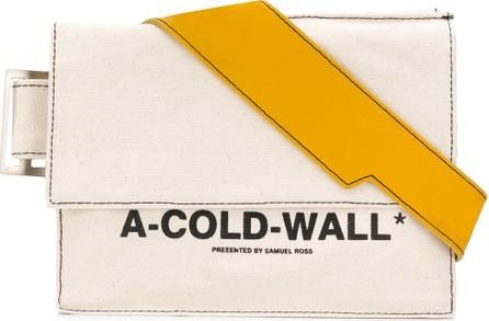 A-Cold-Wall* Logo print shoulder bag