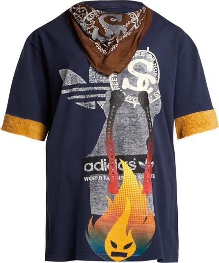 Noki Customised street couture bandana T-shirt