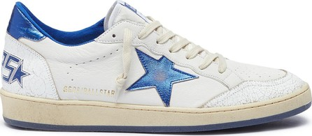 Golden Goose Deluxe Brand 'Ball Star' crackled panel leather sneakers