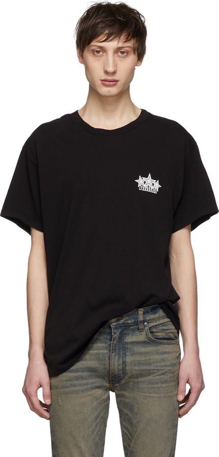 Amiri Black Five Star T-Shirt
