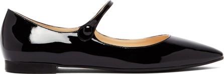 Prada Patent-leather Mary-Jane flats