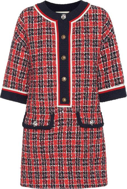 Gucci Checked tweed tunic dress