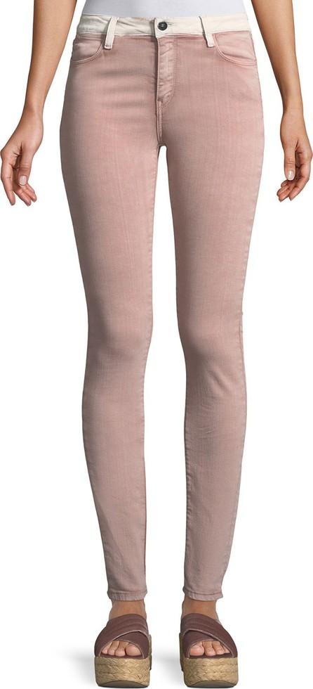 Brockenbow Adone Emma Contrast-Waistband Skinny Jeans
