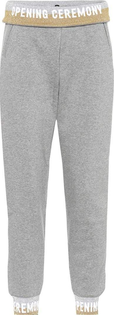 Opening Ceremony Printed cotton trackpants