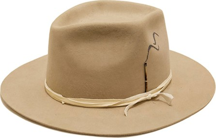 Nick Fouquet Smoking Beaver Felt Fedora Hat
