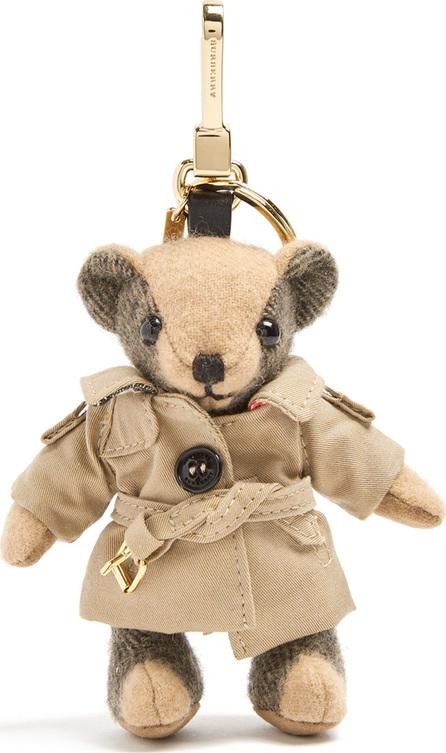 Burberry London England Thomas trench-coat bear key ring