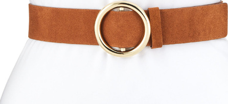 FRAME DENIM O-Ring Suede Belt