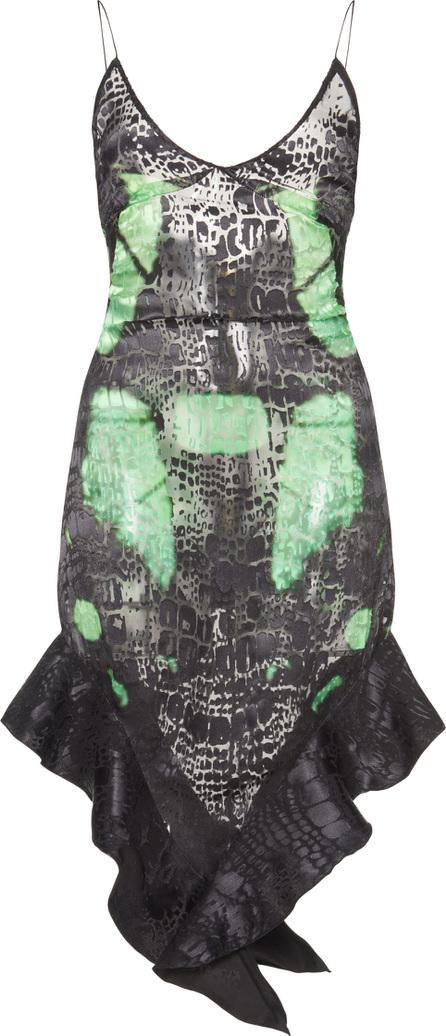 Francesco Scognamiglio Printed Slip Dress
