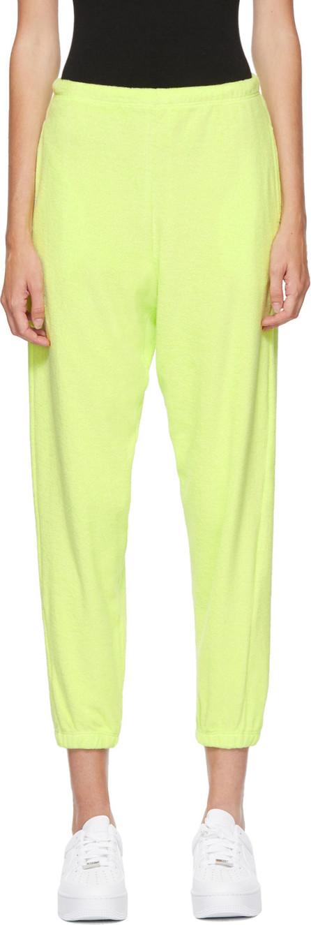 Gil Rodriguez SSENSE Exclusive Green Terry Beachwood Lounge Pants